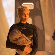 Nyssa-Vex holding Jor-El