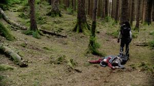 Lobo capturing Adam Strange & Seg-El