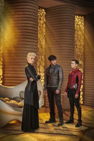 File:Nyssa-Vex, Seg-El and Lyta-Zod promo image.png