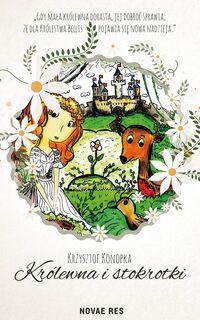Krzysztof Konopka Królewna i stokrotki The Princess and daisies book cover children fairy tale książka dla dzieci