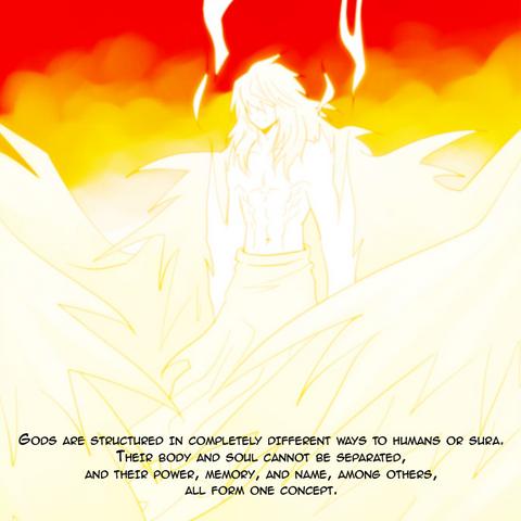 Agni describing gods