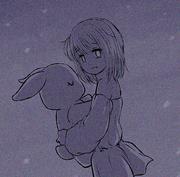 2-123 flashback Mirha with bunny
