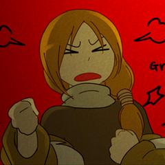 Siera enojado con Claude