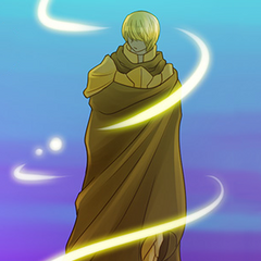 Kubera in his armor