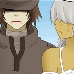 Tan y Hana en los recuerdos de Ran