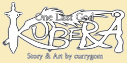 Kubera logo curry yellow