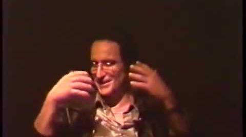 Anton Furst Designer of the Batcave (March 7, 1990)
