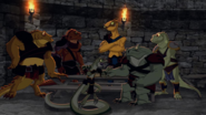 Skink and the other Lizard prisoners