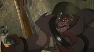 Commander Pigo speaking of Koa