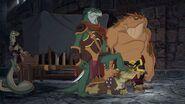 Killara, Skink and Nogo in Darkan's palace