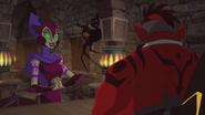 Falgha speaks to Aven