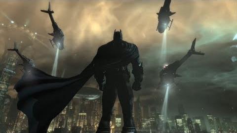 Batman Arkham City Launch Trailer