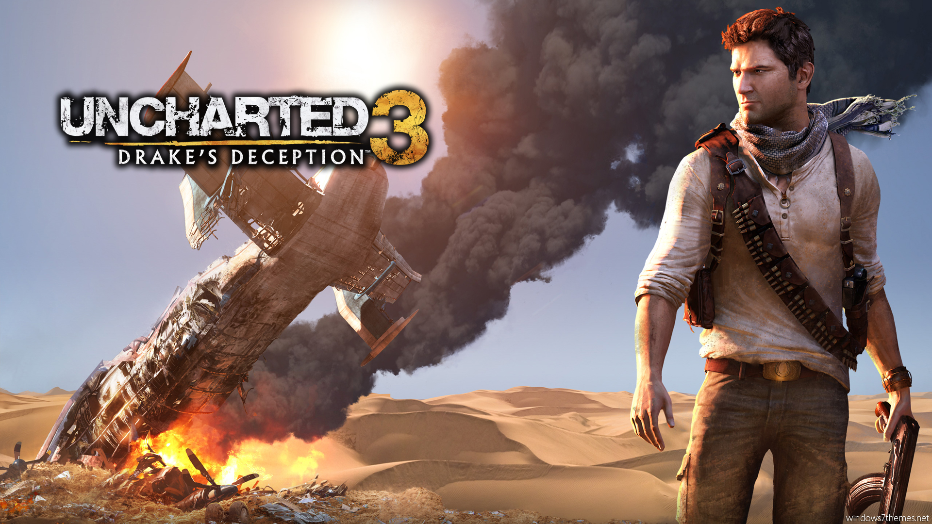 Uncharted 3 Wallpaper 1 Hd