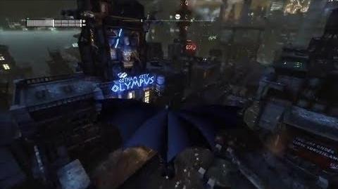 Batman Arkham City Steel Mill Glide Gameplay Trailer