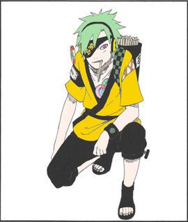 Naruto OC vol 49 colored by silverSahar