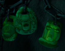 Tai Lung appearing as one of Kai's amulets