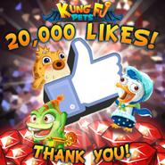 20,000 Likes