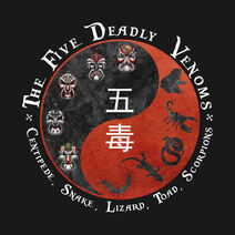 Five Deadly Venoms style