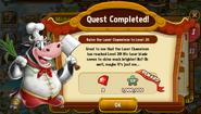 Level 20 Quest Completed - Laser Chameleon