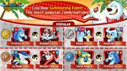 Popular Combinations - Cola Bear