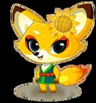SunflowerFoxBaby