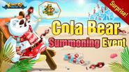 Summoning Event - Cola Bear