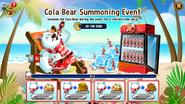 Cola Bear - Summoning Event