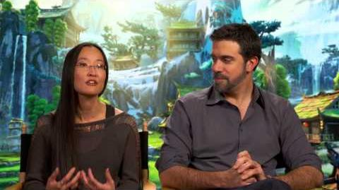 Kung Fu Panda 3 Directors Interview - Jennifer Yuh Nelson & Alessandro Carloni