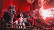 Destroying Gongmen Tower & Po Escape Kung Fu Panda 2 🐼