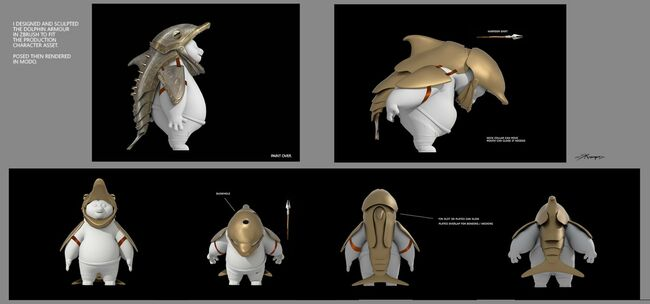 Dolphin-armor-model