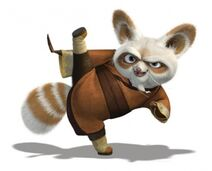 Rode panda stijl