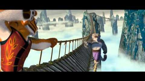 Kung Fu Panda (2008) - Clip Rope Bridge sequence