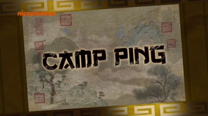 KFP LoA S03E27 Camp Ping title card