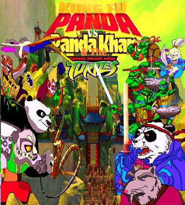 Portada de KFP VS PK & TMNT