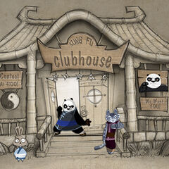 Clubhouse concept; art by Brian White