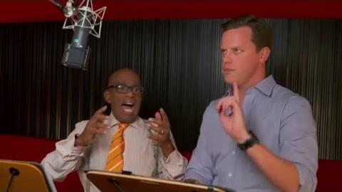 "Kung Fu Panda 3 ""Dim and Sum"" On-Set Interview - Willie Geist & Al Roker"