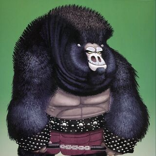 Concept artwork of a gorilla by Nicolas Marlet and Bill Kaufmann