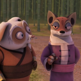 Mei Ling and Shifu
