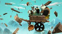 Panda-kids-cart