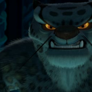Tai Lung angrily fighting against <a href=