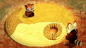 Tigress-yin-yang
