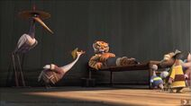 Mr. Ping Teasing Tigress