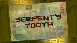 Serpent's-tooth-title