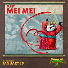 Mei Mei featured in a social media promo