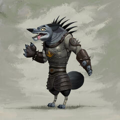 Character concept art by Bill Dely