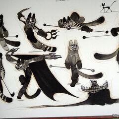 Concepto de obra de las hermanas Wu de Nicolas Marlet