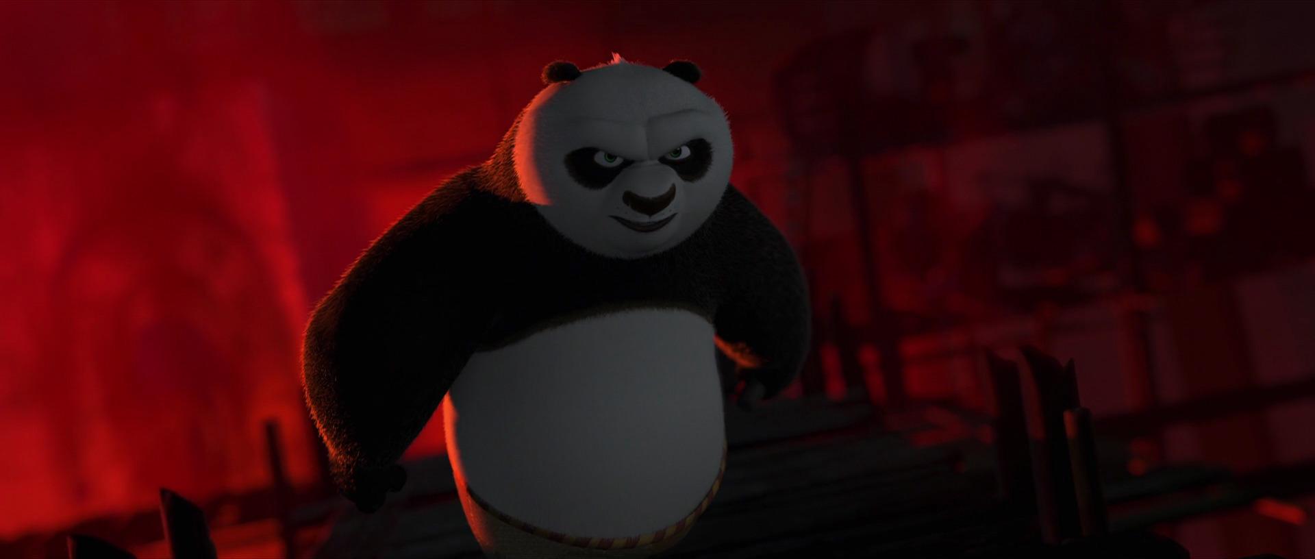 Фу серия ночной незноком конг панда