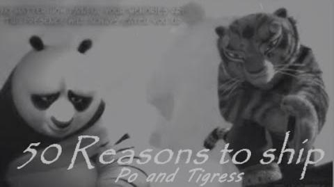 50 reasons to ship Po and Tigress aka Tipo-1432132271