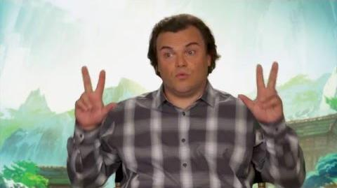"Kung Fu Panda 3 ""Po"" On-Set Interview - Jack Black"
