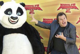 Kung-fu-panda & jack biack